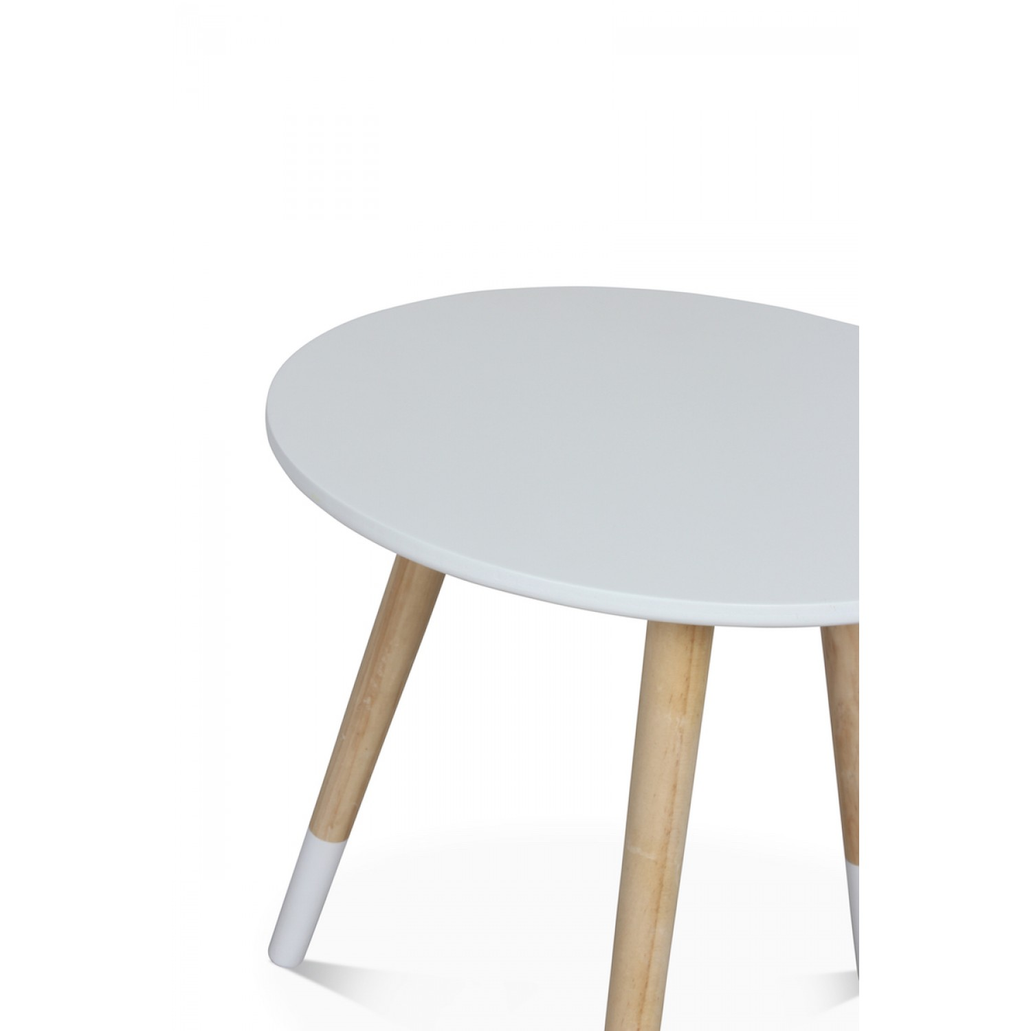 Table Basse Blanche Scandinave Table Basse Scandinave Blanche GjÖktÀ Diamètre 40 Cm