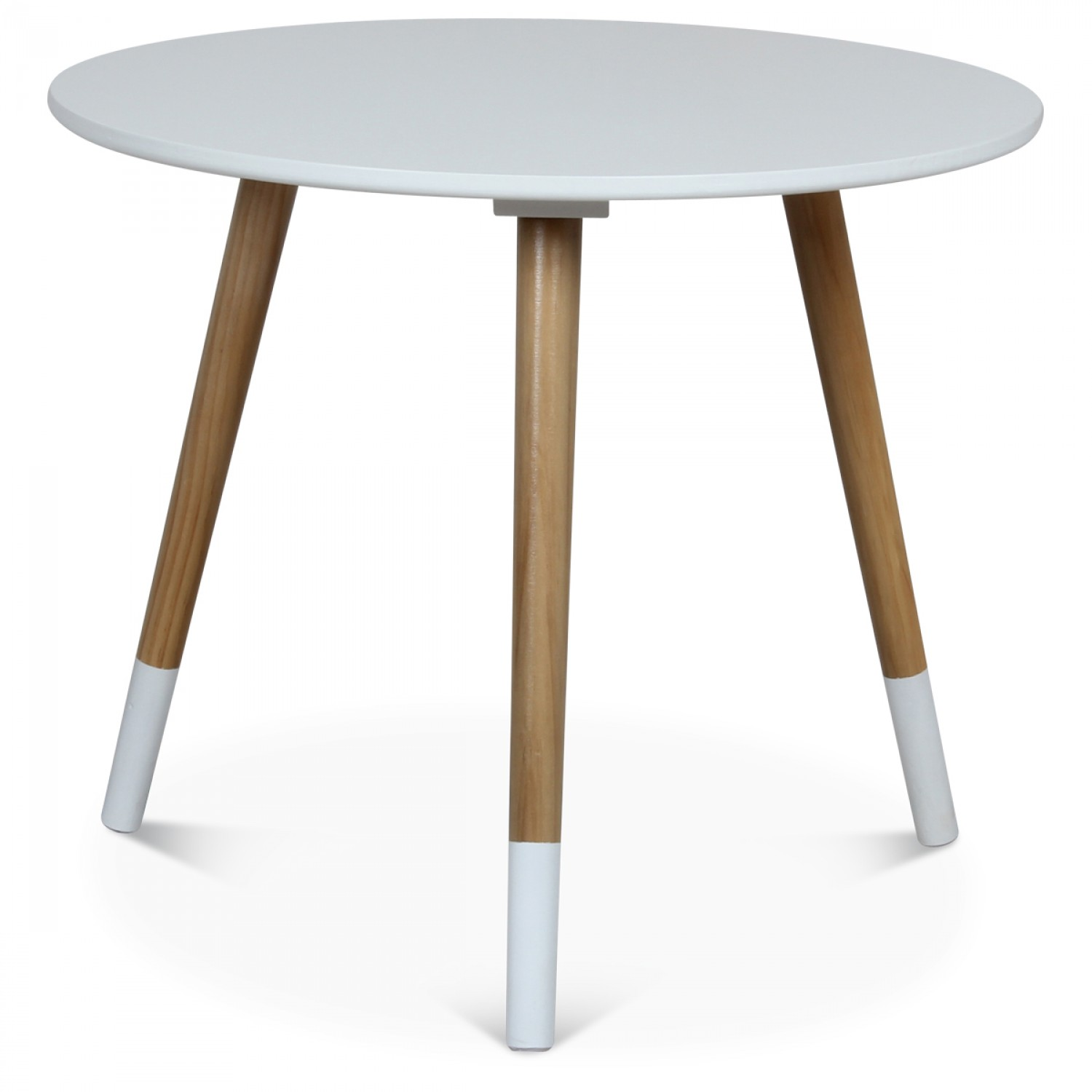 Table Basse Blanche Scandinave Table Basse Scandinave Blanche FÜskit Diamètre 50 Cm