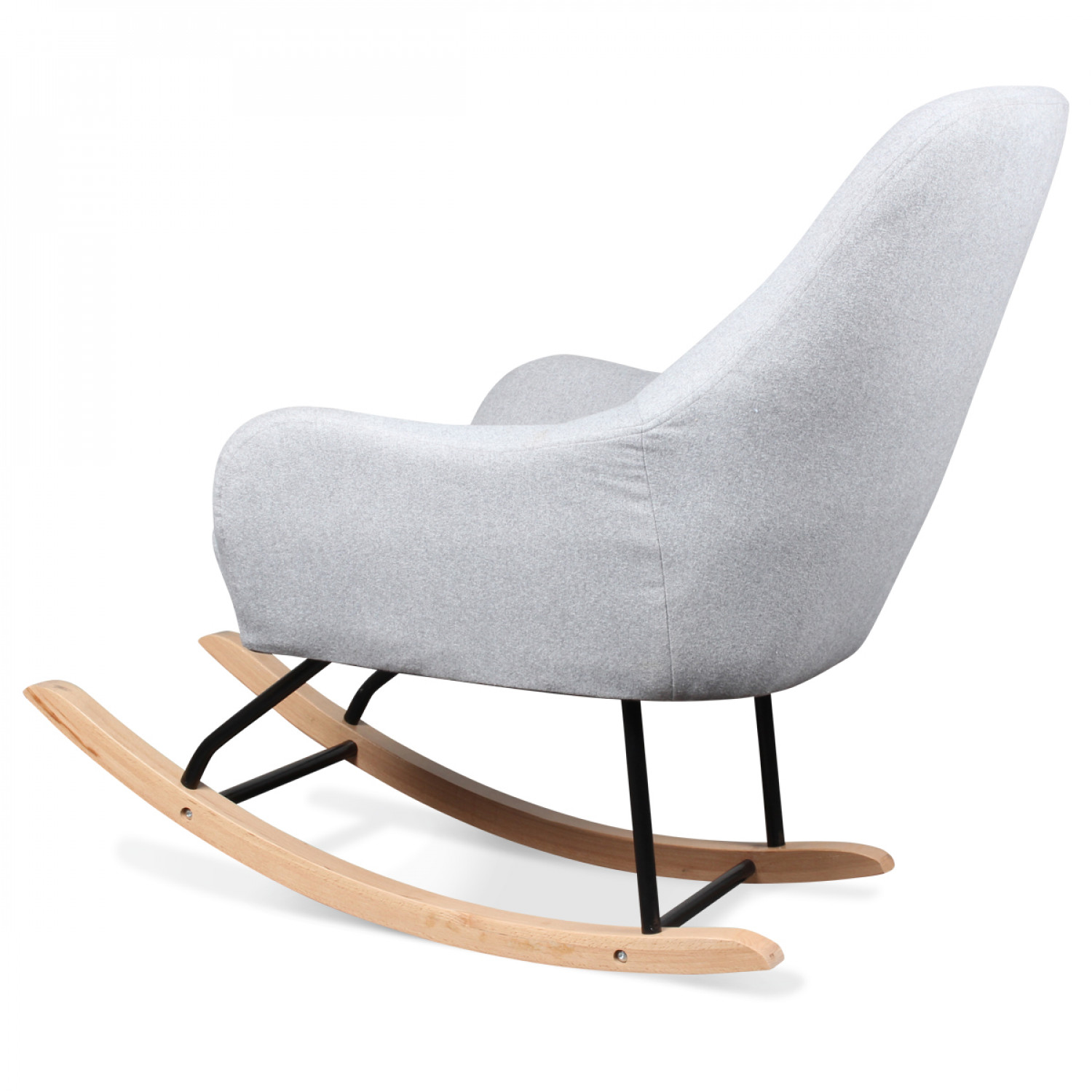 Rocking Chair Scandinave Rocking Chair Style Scandinave Cheap Chaise Bascule Viva
