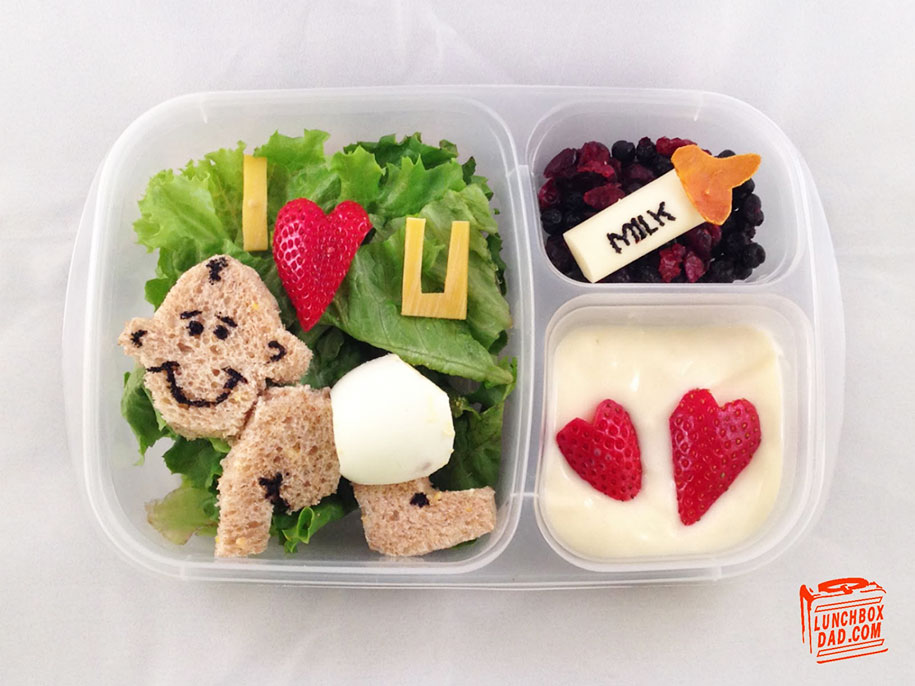"Bento Box Ideen ""lunchbox Dad"" Creates Impressive Edible Art For His"