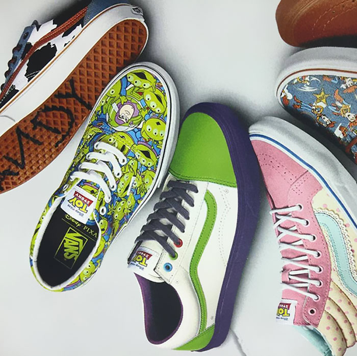 Toy Story Toys Vintage Toy Story Shoes Released By Vans And Pixar