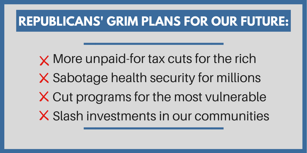 President Trump and Congressional Republicans\u0027 Upside-Down Budget - budget plans for families