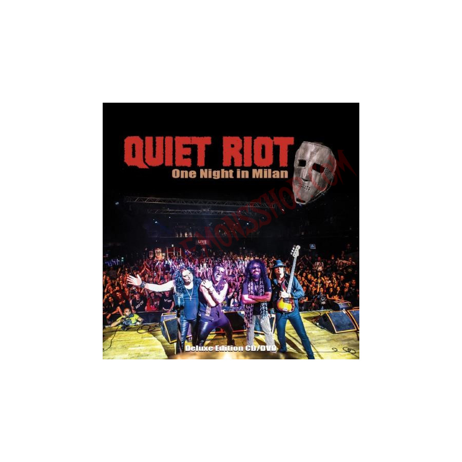 Bolsos Para Libros Dvd Quiet Riot - One Night In Milan - Demons Shop