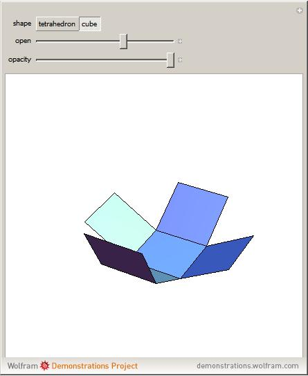 Printable nets for 3d shapes Trials Ireland