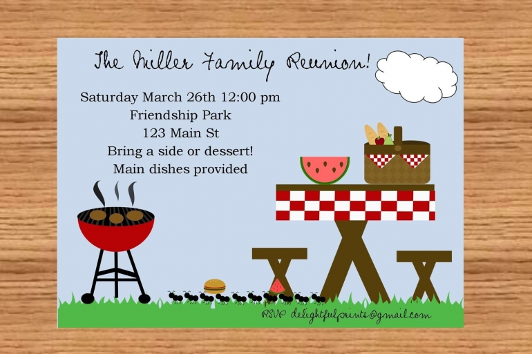 24 Free Picnic Flyer Templates for All Types of Picnics (Editable