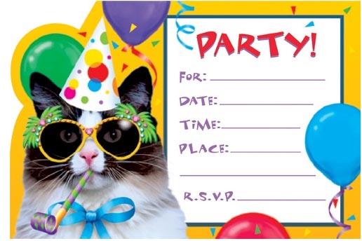 Birthday Invitation Template Word | wblqual.com