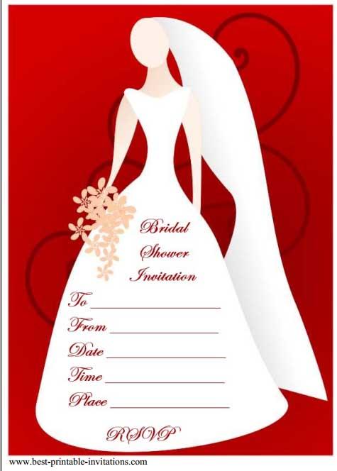 12 Mesmerizing Free bridal shower Flyer Templates - Demplates - free bridal shower invitation templates