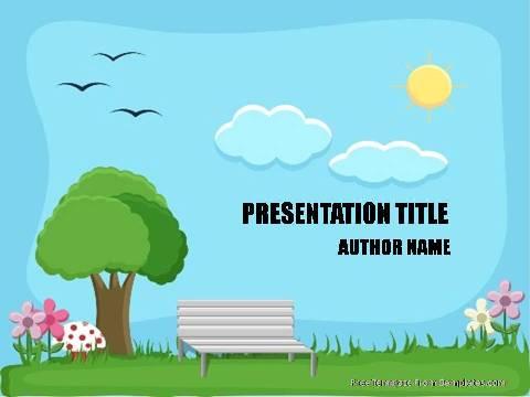 Parks PowerPoint Template - Demplates