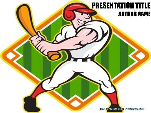 Baseball Field PowerPoint Template - Demplates - baseball field template