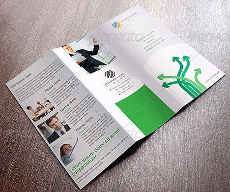 40 Professional Free Tri fold Brochure Templates - Word, PSD
