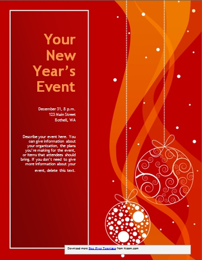 Free Printable Christmas Party Invitations Templates - Demplates