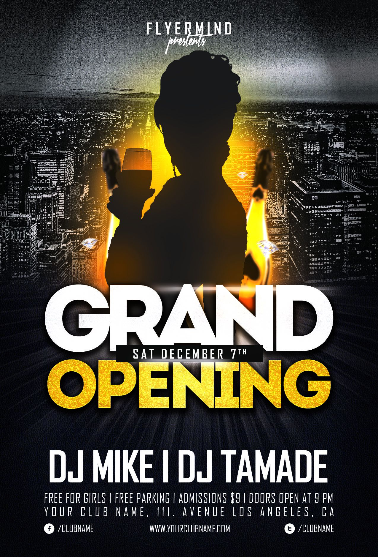 flyer grand opening