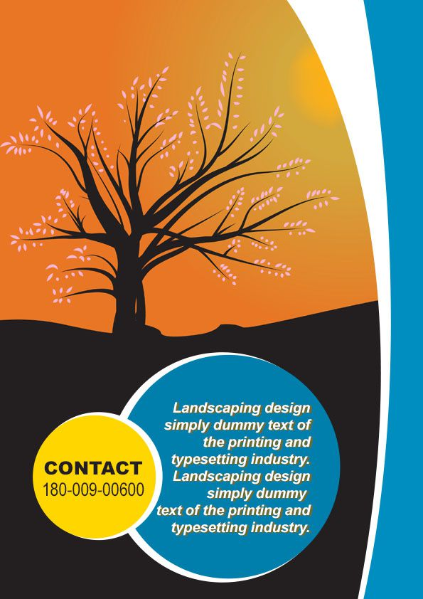 Free Landscaping Flyer Templates to Power Lawn Care Businesses - free landscape flyer templates