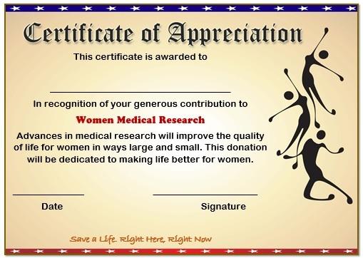 10 Elegant Certificate of Appreciation for Donation Templates  Free - certificate of appreciation verbiage