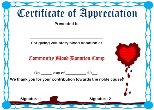 10 Elegant Certificate of Appreciation for Donation Templates  Free - certificates of appreciation templates for word