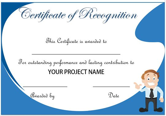 20 Free Certificates Of Appreciation For Employees  Editable - Examples Of Certificates Of Recognition