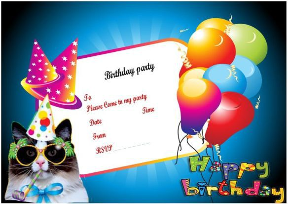 100 Free Birthday Invitation Templates - You Will Love These - Demplates