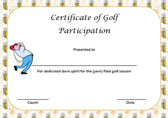 Certificate Of Participation Free Template Complete Guide Example
