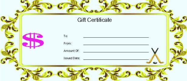Pictures of Gift Certificate Template For Kids - kidskunstinfo