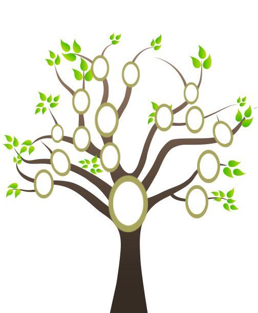 one sided family tree template - Pinarkubkireklamowe