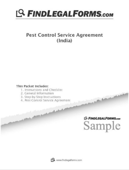 Free Pest Control Service Agreement Template 9 Templates Free to