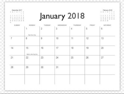 Indesign Calendar Template 11 Ready-to-Use templates for free