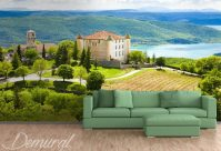 French passage - Landscapes wallpaper mural - Photo ...