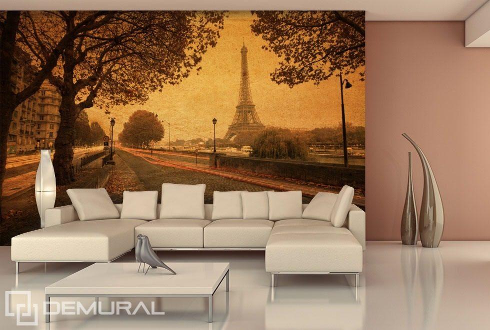 3d Bedroom Wallpaper Uk Streets Of Paris Eiffel Tower Wallpaper Mural Photo