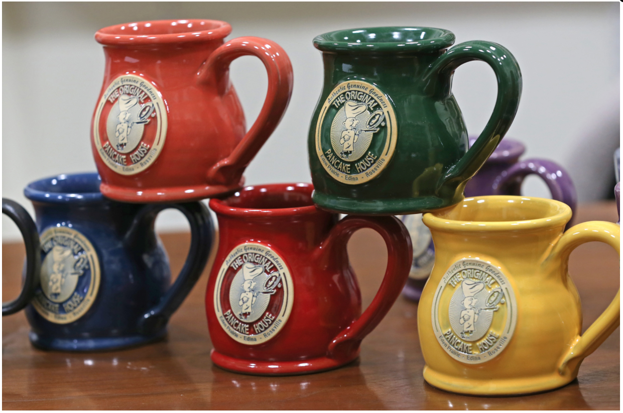 Original Coffee Mugs Deneen Pottery In The Startribune Deneen Pottery