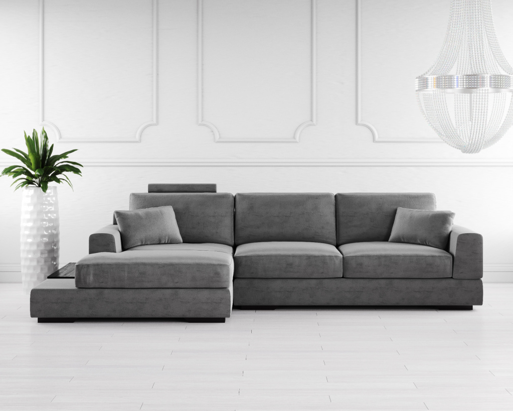 Modern Furniture Uk Online Buy Gino Fabric Corner Sofa Online In London Uk Denelli Italia