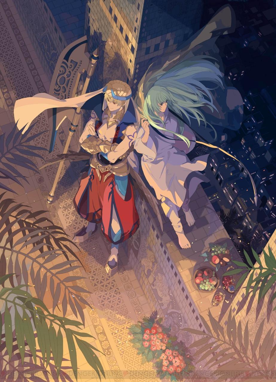 The Best Anime Wallpaper 電撃 舞台『fgo 絶対魔獣戦線バビロニア』ギルガメッシュとエルキドゥが描かれたイメージビジュアル解禁
