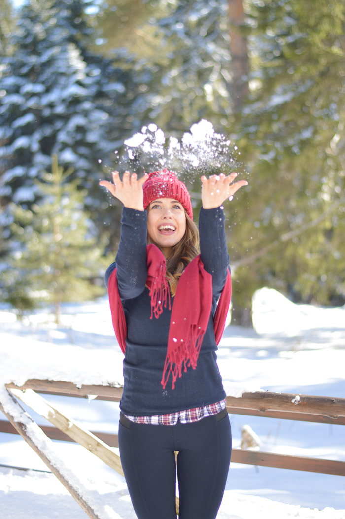 Winter Snowy Wonderland in Borovets