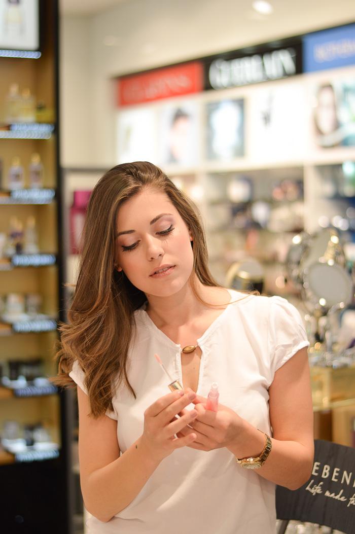 Makeup session with Collistar Debenhams Bulgaria Mall Denina Martin