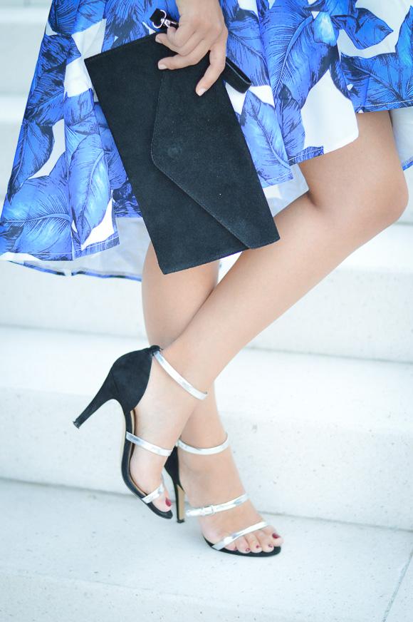 Blue, White and Black by Denina Martin