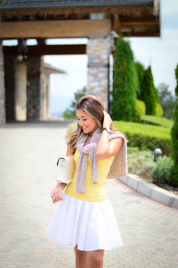 Български моден блогър в Pirin Golf Hotel & SPA