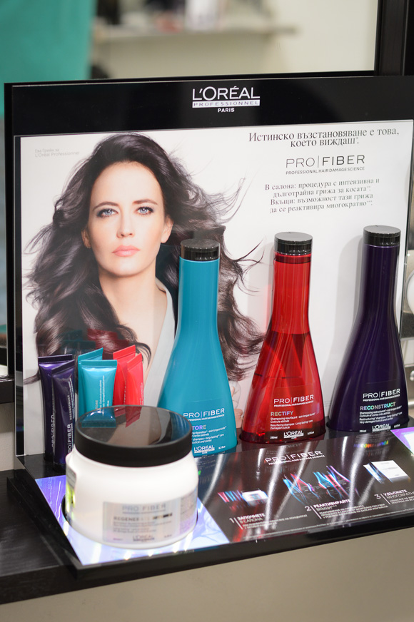 Loreal Professionnel Pro Fiber hair treatment at Mr Snips