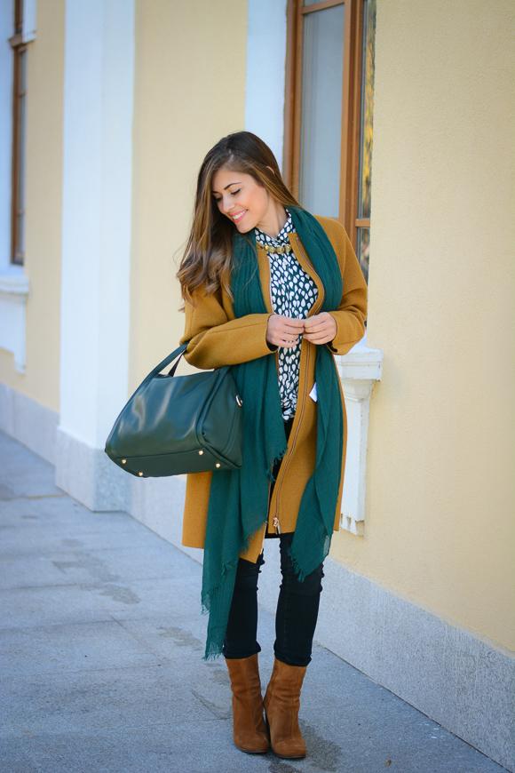Mustard-Coat-Stefanel-Denina-Martin-Bulgaria-Mall-2