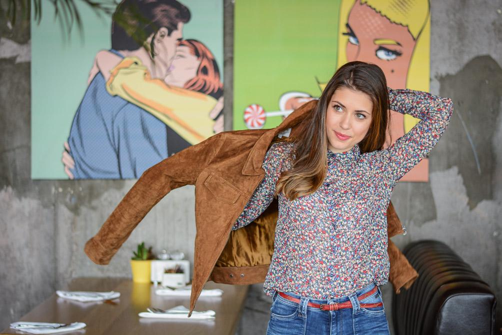 Laidback-Soho-Cafe-Flare-Jeans-Suede-Jacket-Denina-Martin-7