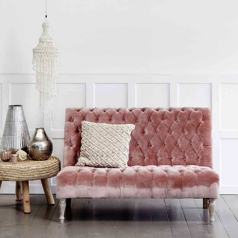 Chesterfield Sofa Samt Rosa Chesterfield Sofa Rosa Samt Haus Ideen