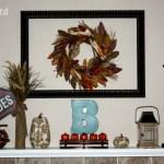 mantel fall11 150x150 DIY Fall Burlap Wall Designs