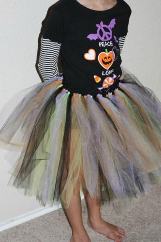 Handmade Halloween Tu-Tu
