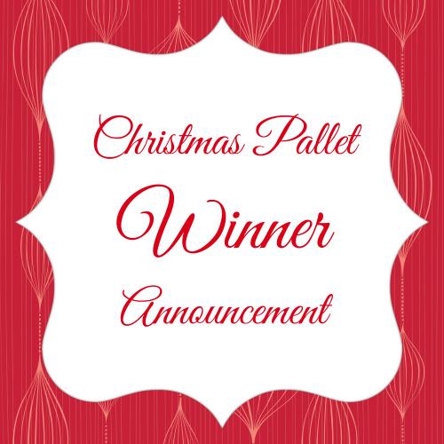christmas pallet winner feature