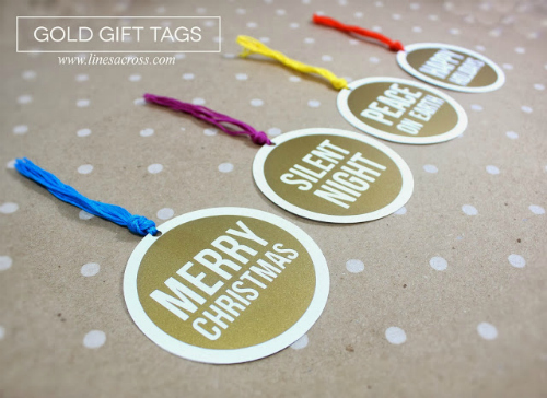 link 7 feature Gold Gift Tags