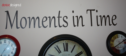 wall clocks moments in time