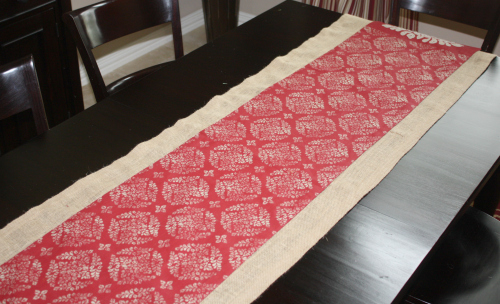 christmas burlap runner 500 3