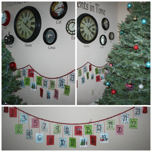 christmas home tour advent calendar