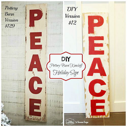 pottery-barn-knockoff-PEACE-sign-comparison-by-thehappyhousie-for-Uncommon-Designs