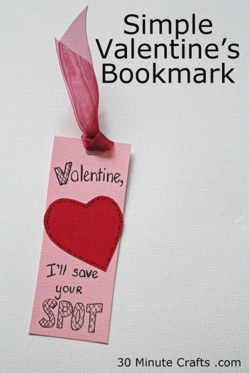 Simple-Valentines-Bookmark