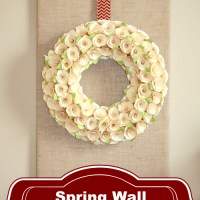 Spring Wall Design and Link Party