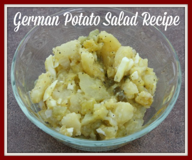 German Potato Salad Recipe 500